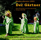 "Covercard Video-DVD ""Der Gärtner"""