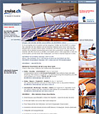 Screenshot Landingpage www.cruise.ch